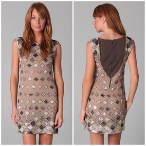 Alice + Olivia Vista Sequin Mini Dress
